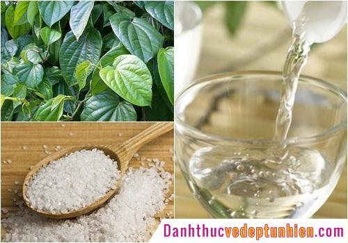 Rửa vùng kín bằng nước lá trầu không để cải thiện tình trạng bệnh