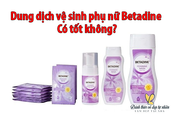 Dung dịch vệ sinh phụ nữ Betadine là một sản phẩm ngày nay đã được rất nhiều chị em đón nhận. Họ sử dụng và có những phản hồi rất tích cực về sản phẩm.