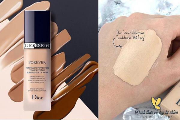 Dior Skin Forever kem nền có độ chống nắng khá tốt