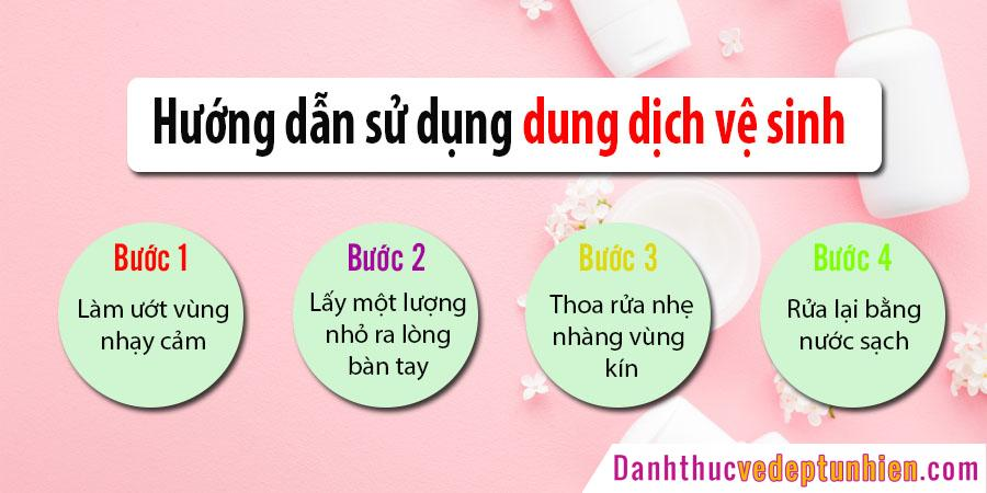 hdsd dung dich ve sinh