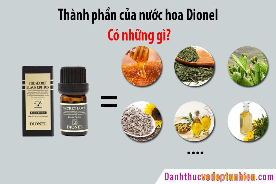 thanh phan nuoc hoa dionel