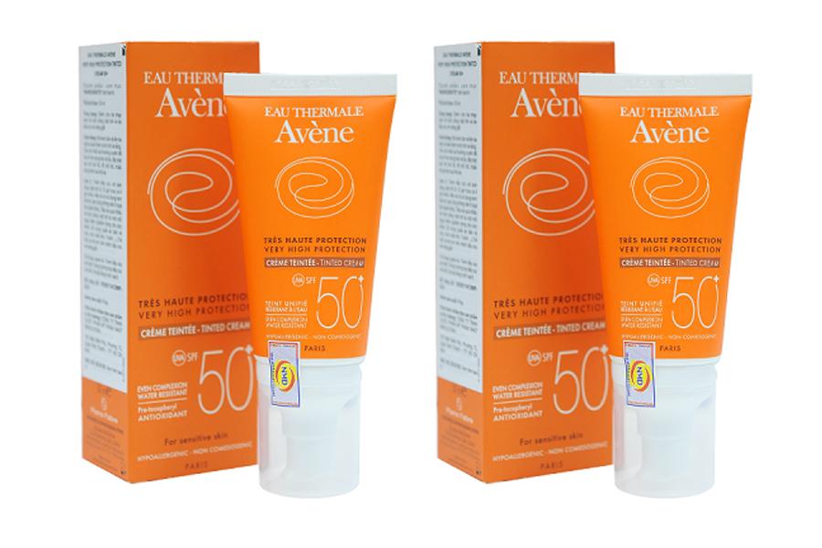 Very High Protection Tinted Cream SPF 50+ Avene cho da nhạy cảm