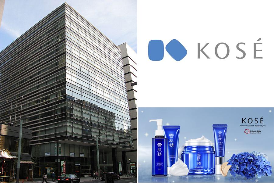 Kose là thương hiệu mỹ phẩm nổi tiếng tại Nhật Bản