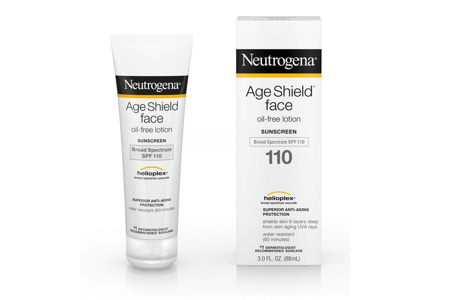 Kem chống nắng neutrogena age shield face spf 110 dành cho da nhạy cảm