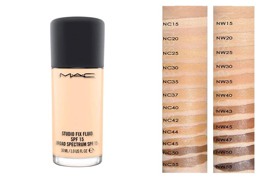 Kem Nền MAC Studio Fix Fluid là một dòng kem makeup chuyên nghiệp