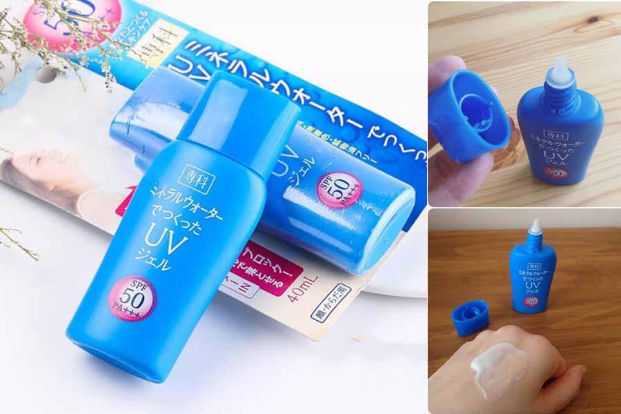Senka Shiseido Mineral Water Gel rất được yêu thích