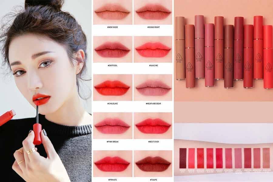 Son 3ce Velvet Lip Tint đẹp, cá tính