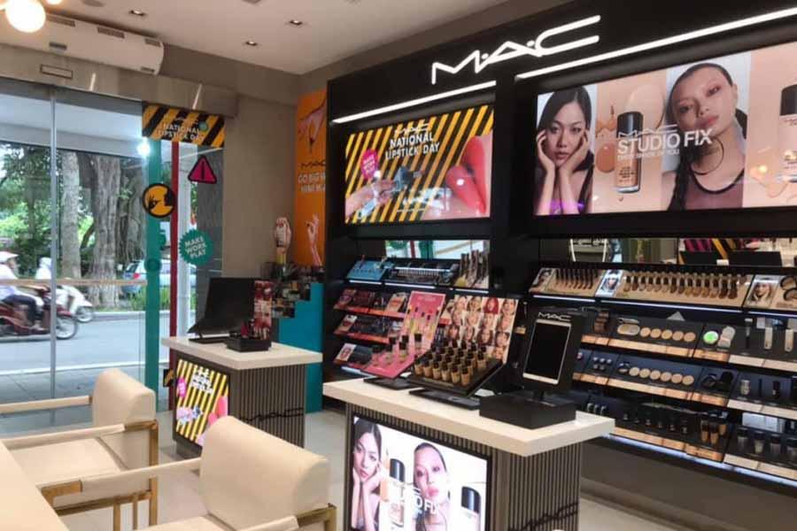 Store mỹ phẩm Mac tại Việt Nam