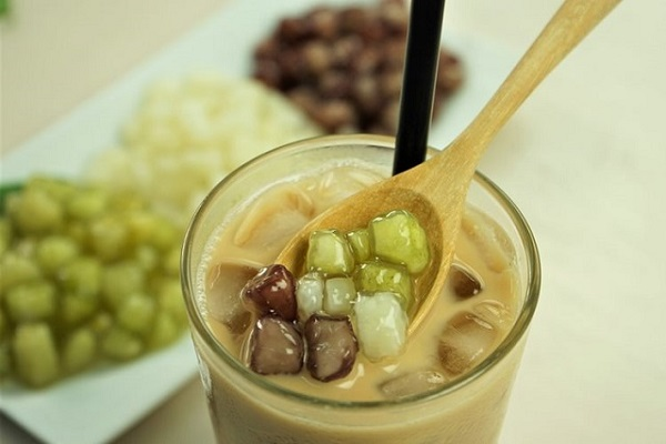 Ly trà sữa vô cùng thơm ngon, hấp dẫn