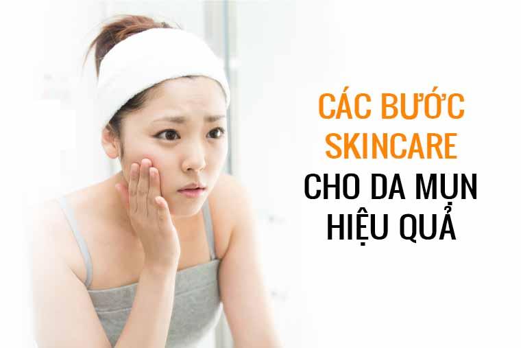 Skincare làm cho làn da được chăm sóc đầy đủ từ tế bào theo một quá trình cụ thể có nghiên cứu và sử dụng mỹ phẩm dưỡng da